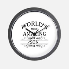 World's Most Amazing Son Wall Clock
