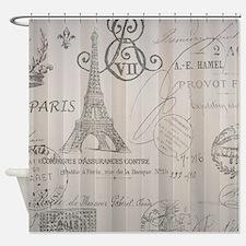 stripes elegant paris Eiffel tower floral art Show