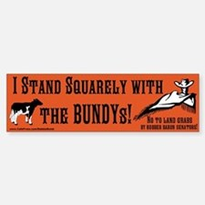 Land Grab Bumper Bumper Sticker