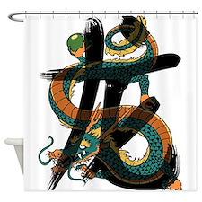 dragon3 Shower Curtain