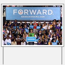 Michelle Obama Yard Sign