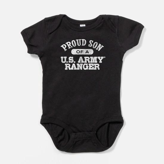 Army Ranger Son Baby Bodysuit