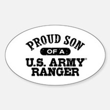 Army Ranger Son Sticker (Oval)