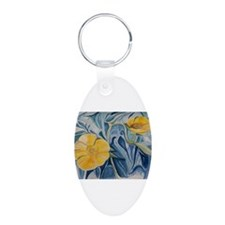 Buttercups in Blue Keychains