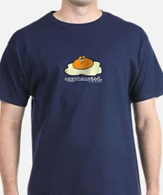 Eggshausted Punny T-Shirt