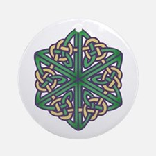 Celtic Knot 1a Ornament (Round)
