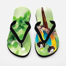 Macaws Flip Flops