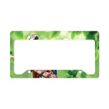 Macaws License Plate Holder
