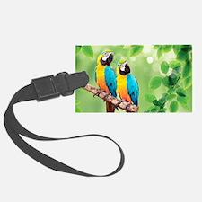 Macaws Luggage Tag