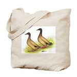 Khaki Campbell Ducks Tote Bag