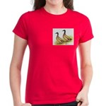 Khaki Campbell Ducks Women's Dark T-Shirt