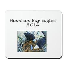 Harrison Bay Eagles Mousepad