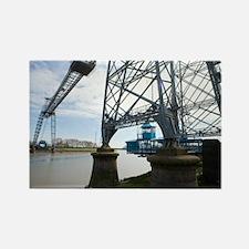 Newport Transporter Bridge Rectangle Magnet