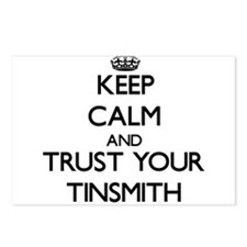 Keep Calm and Trust Your Tinsmith Postcards (Packa