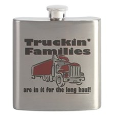 Truckin' Families Flask