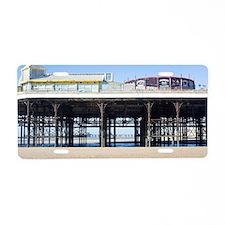 Blackpool central pier Aluminum License Plate