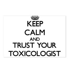 Keep Calm and Trust Your Toxicologist Postcards (P
