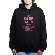 Keep Calm Birthday Girl Women's Hooded Sweatshirt