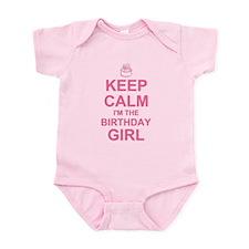 Keep Calm Birthday Girl Infant Bodysuit