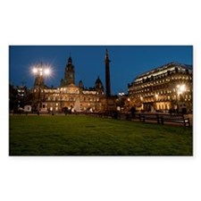 George Square in Glasgow at ni Decal
