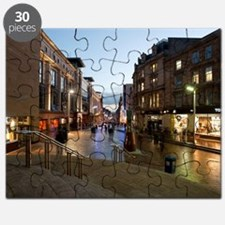 Buchanan Street in central Glasgow Puzzle