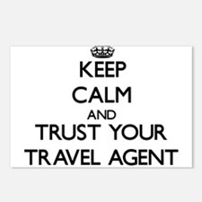 Keep Calm and Trust Your Travel Agent Postcards (P