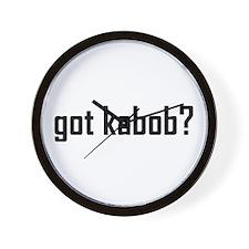 Got Kabob? Wall Clock