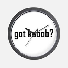 Got Kabob? Wall Clock
