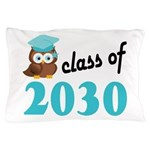 Class of 2030 (Owl) Pillow Case