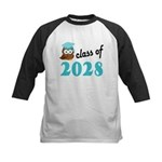 Class of 2028 (Owl) Kids Baseball Jersey