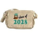 Class of 2028 (Owl) Messenger Bag