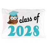 Class of 2028 (Owl) Pillow Case