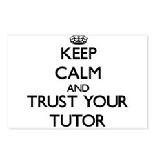 Keep Calm and Trust Your Tutor Postcards (Package