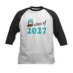 Class of 2027 (Owl) Kids Baseball Jersey