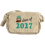 Class of 2027 (Owl) Messenger Bag