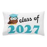 Class of 2027 (Owl) Pillow Case