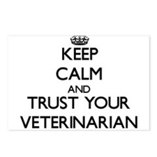 Keep Calm and Trust Your Veterinarian Postcards (P