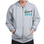 Class of 2024 (Owl) Zip Hoodie