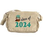 Class of 2024 (Owl) Messenger Bag