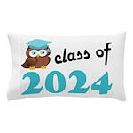 Class of 2024 (Owl) Pillow Case