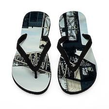 clydeport crane Flip Flops