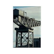 clydeport crane Rectangle Magnet