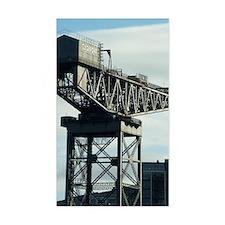 clydeport crane Decal