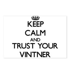 Keep Calm and Trust Your Vintner Postcards (Packag