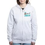 Class of 2019 (Owl) Women's Zip Hoodie