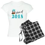 Class of 2018 (Owl) Women's Light Pajamas