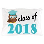 Class of 2018 (Owl) Pillow Case