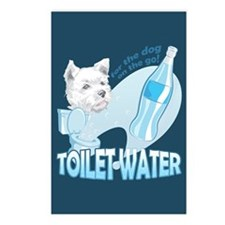 """Toilet Water"" Postcards (Package of 8)"