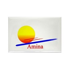 Amina Rectangle Magnet (10 pack)