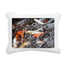 Koi Rectangular Canvas Pillow